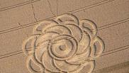 2007年7月21日德国Dankelshausen Niedersachsen麦田怪圈