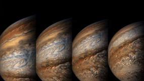 探秘木星高北纬的风暴